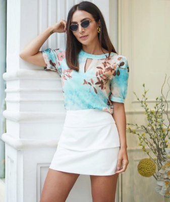 Blusa Mix De Estampa