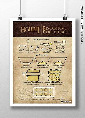 Quadro - Biscoito do Hobbit