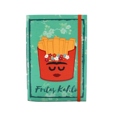 Caderneta Fritas Kahlo - 14x20