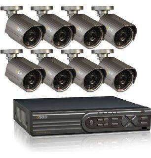 Combo Q-See CFTV -  Gravador de 16 Canais, Capacidade de 1TB HDD, Com 8 Câmeras