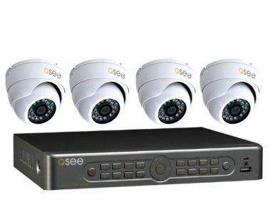 Kit Gravador 8 Canais com 4 Câmeras 600TVL