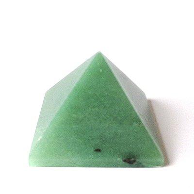 Pirâmide de Quartzo Verde