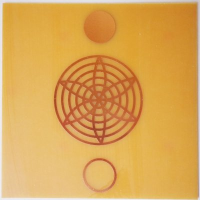 Placa Harmonia - Gráfico em Cobre