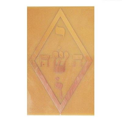 Placa Ioshua G - Gráfico em Cobre