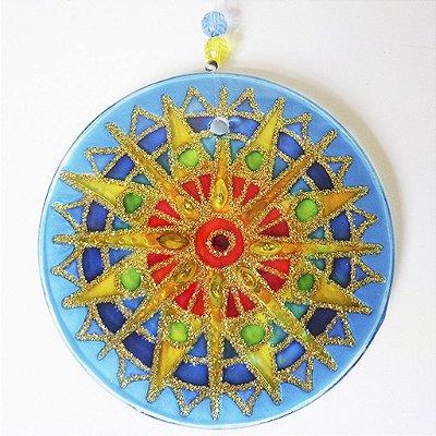 Ativador Energético Mandala Sol Azul