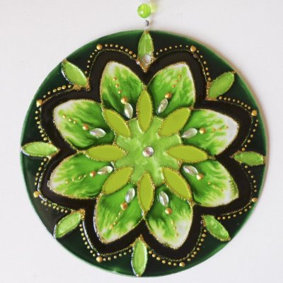 Ativador Energético Mandala Verde Esperança