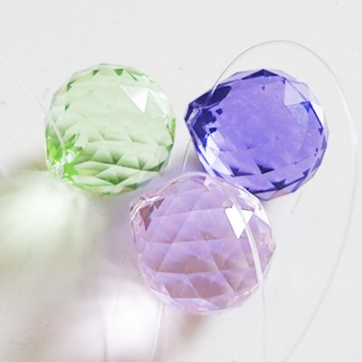 Cristal facetado Feng Shui Swarovski Cores