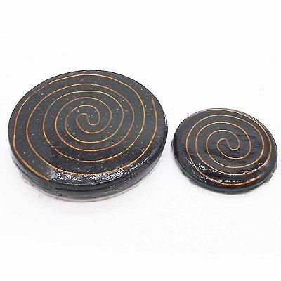 Orgonite Adesivo Para Celular Black Sun
