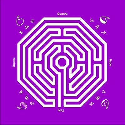 Toalha Rituais Labirinto Damiens