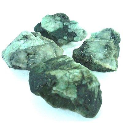 Pedra esmeralda Bruta
