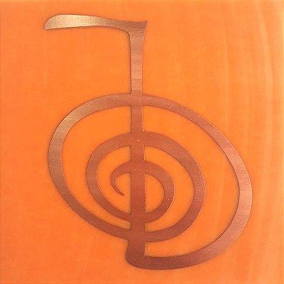 Placa de Reiki - Gráfico em Cobre - Tamanho M