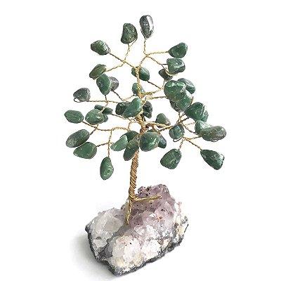 Árvore de Pedras Quartzo Verde