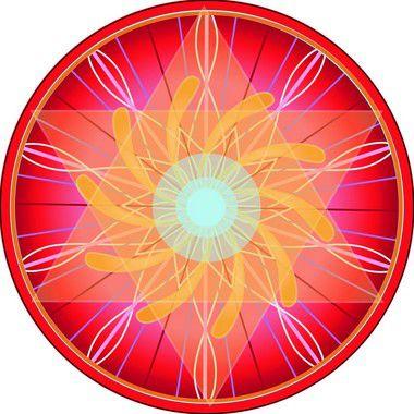 Adesivo Para Parede Mandala do Sucesso 60cm
