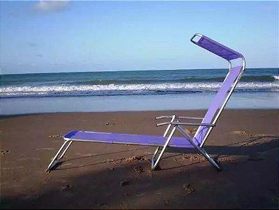 Espreguiçadeira de tenda solar