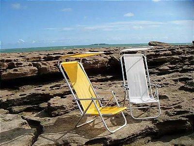 Cadeira solar com 2 posições