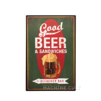 Placa Madeira Beer