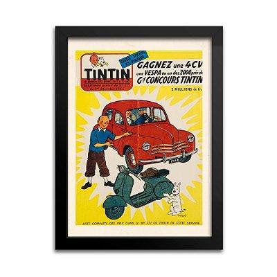 Quadro Decorativo Tintin