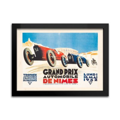 Quadro Decorativo Grand Prix de Nimes