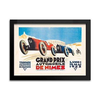 Quadro Decorativo Grand Prix de Nimes