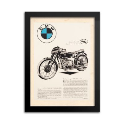 Quadro Decorativo BMW