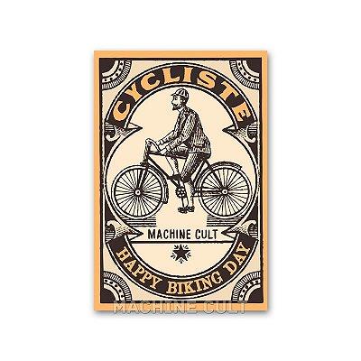 Cartão Postal Ciclista