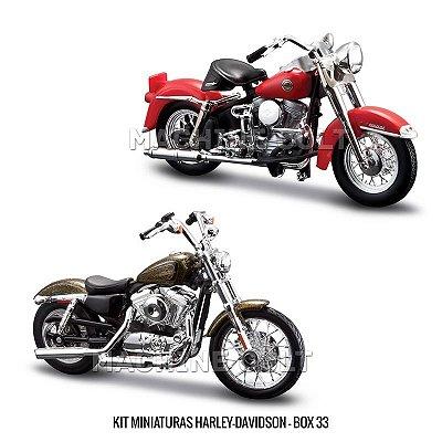 Kit Miniaturas Harley-Davidson - BOX 33