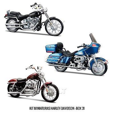 Kit Miniaturas Harley-Davidson - BOX 31