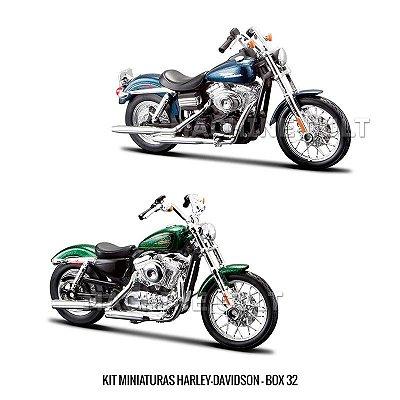 Kit Miniaturas Harley-Davidson - BOX 32