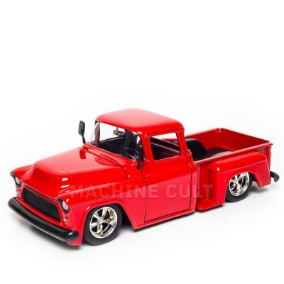 Miniatura Chevy Stepside 1955 Vermelho - Jada 1:24
