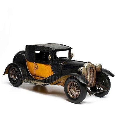 Miniatura Carro Antigo com Capota