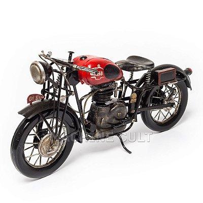 Miniatura Moto Cafe Racer Gilera