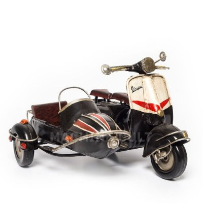Miniatura Vespa Sidecar