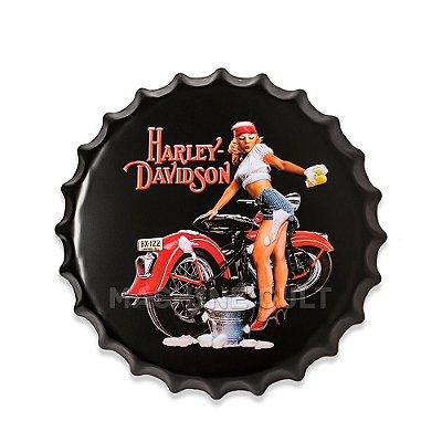 Placa Harley-Davidson M3 - Alto Relevo