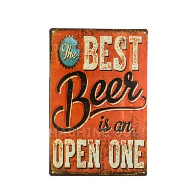 Placa Decorativa Cerveja M1