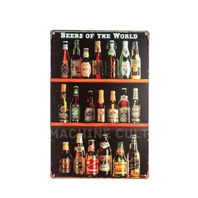 Placa Decorativa Melhores Cervejas