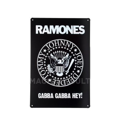 Placa Decorativa Ramones