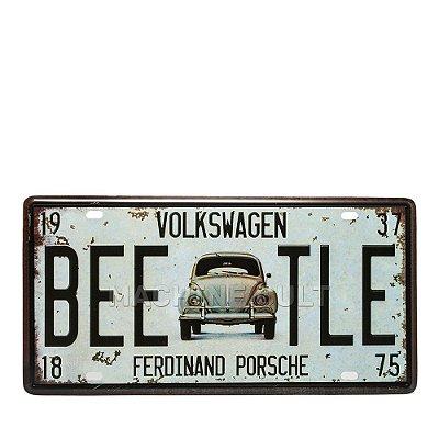Placa Fusca Ferdinand Porsche - Alto Relevo