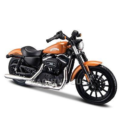 Miniatura Harley-Davidson 2014 Sportster 883 Iron - Maisto 1:18