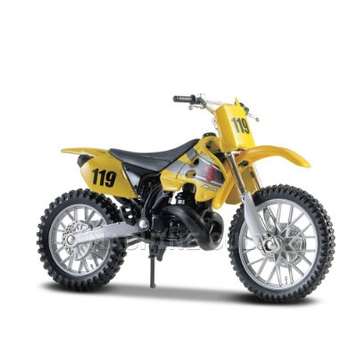 Miniatura Suzuki RM250 - Maisto 1:18