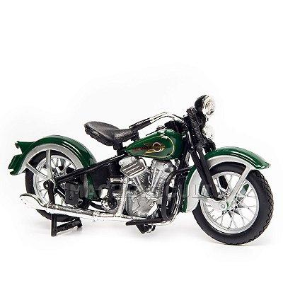 Miniatura Harley-Davidson 1936 EL Knucklehead - 1:18