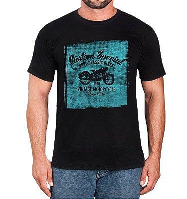 Camiseta Moto Clássica