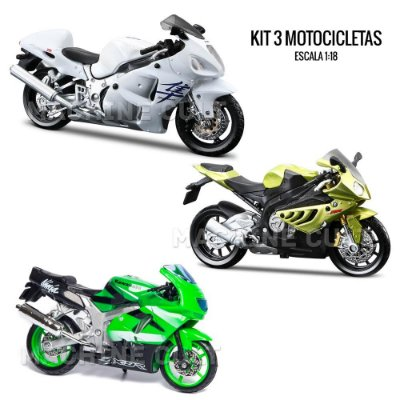 Kit de Miniaturas Moto Speed - Box 17