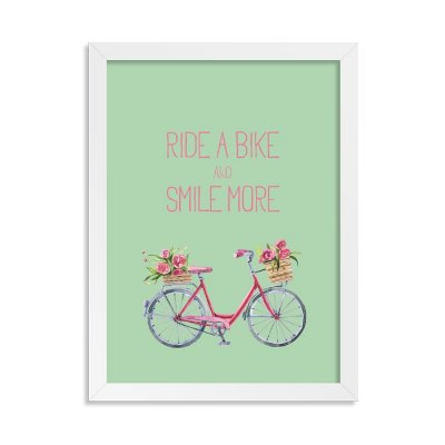 Quadro Decorativo Ride a Bike
