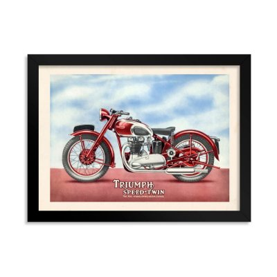 Quadro Decorativo Triumph Speed Twin