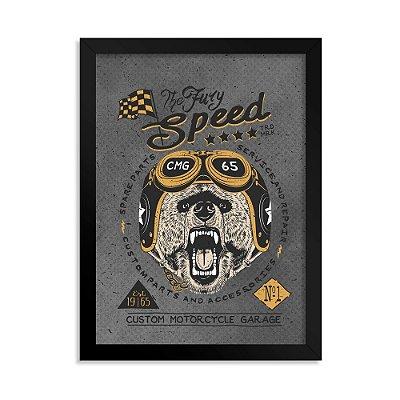 Quadro Decorativo - The Fury Speed