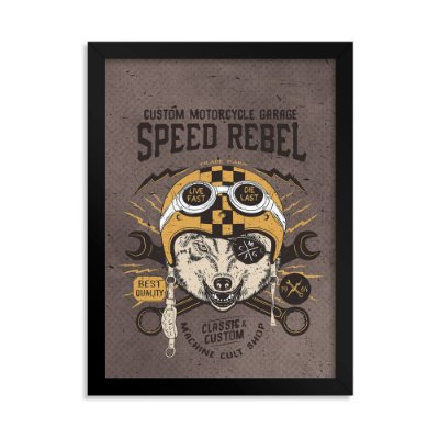 Quadro Decorativo - Speed Rebel