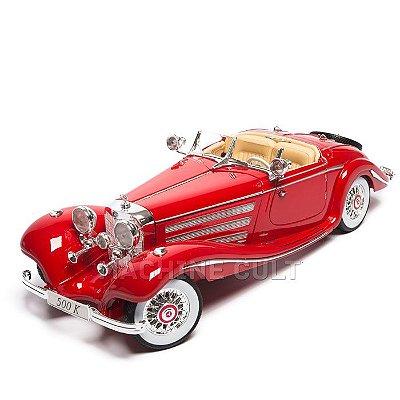 Miniatura 1936 Mercedes-Benz 500 K Typ Special Roadster - Maisto 1:18
