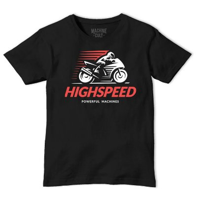Camiseta Moto Speed