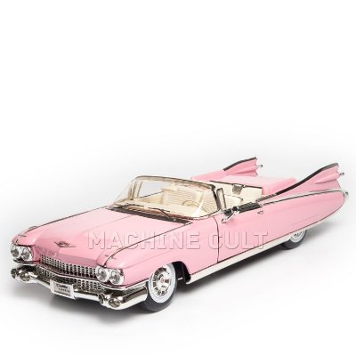 Miniatura 1959 Cadillac Eldorado Biarritz - Rosa - Maisto 1:18