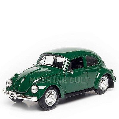 Miniatura Fusca Volkswagen Verde - Maisto 1:24